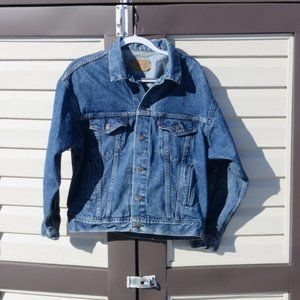 Vintage Levi's Denim Trucker Jacket USA Made